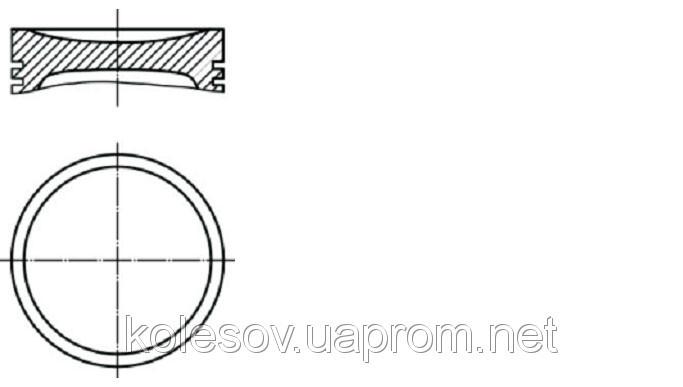 Поршни FORD Mondeo (C-Max, Focus, Fiesta) 2.0 бенз.