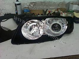 Установка биксеноновы линз G5 с глазами с покраской накладок на Nissan Almera 4