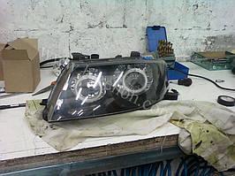 Установка биксеноновы линз G5 с глазами с покраской накладок на Nissan Almera 5