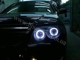 Установка биксеноновы линз G5 с глазами с покраской накладок на Nissan Almera 6