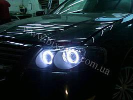 Установка биксеноновы линз G5 с глазами с покраской накладок на Nissan Almera 7