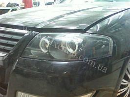 Установка биксеноновы линз G5 с глазами с покраской накладок на Nissan Almera 9
