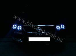 Установка биксеноновы линз G5 с глазами с покраской накладок на Nissan Almera 12