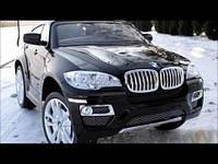 Детский электромобиль  BMW  X6 T-791 BLACK***