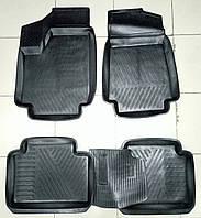 Коврики автомобильные для ВАЗ Нива 2121  резиновые с бортами