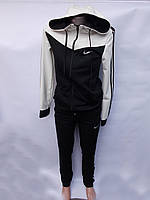 """Спортивный костюм  NIKE женский c капюшоном, размеры норма Серии """" SPARTA """" Украина, 4 цвета"""