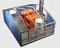 Модуль отопления БТС от 530 до 1000 кВт.
