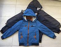 Курточка подростковая для мальчика 140-164 рост.