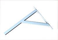 Кронштейн силовой,(консоль) П-40;   400х300мм нагрузка до 250кг