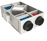 ПВ Установка потолочного типа с рекуперацией тепла (Алюминиевый рекуператор) Eneko  EVHR 325