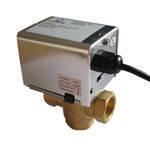 Зональные клапаны с электроприводом, c возвратной пружины  ZV-S 3-15-2-230
