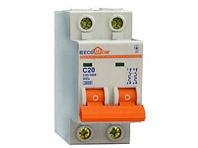 Автоматический выключатель ЕСОНОМЕ, 2Р, С, 10А, (04-01-22) шт.
