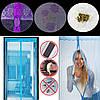 Сетка на дверь от комаров на магнитах, 210х100 с рисунком, фото 5