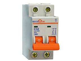 Автоматический выключатель ЕСОНОМЕ, 2Р, С, 32А, (04-01-26) шт.