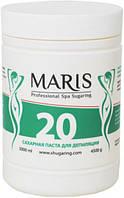 """Сахарная паста мягкой консистенции для шугаринга зоны ног и бикини Марис/Maris """"20"""" - 4500гр"""