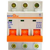 Автоматический выключатель ЕСОНОМЕ, 3Р, С, 10А, (04-01-32) шт.