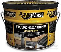Мастика битумно-резиновая для кровли  AquaMast Технониколь 10кг (Аквамаст Гидроизоляция)