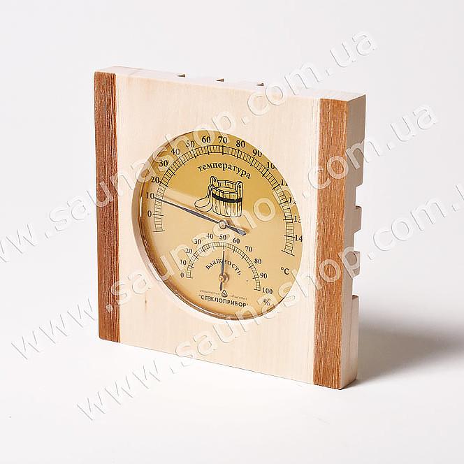 Термогигрометр для парной Виктер ТГС-3