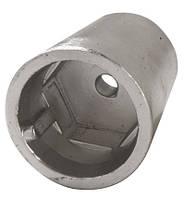 Анод цинковый для гребного вала d.60мм; 1,600 кг