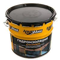 Мастика битумно-резиновая для кровли  AquaMast Технониколь 3кг (Аквамаст Гидроизоляция)