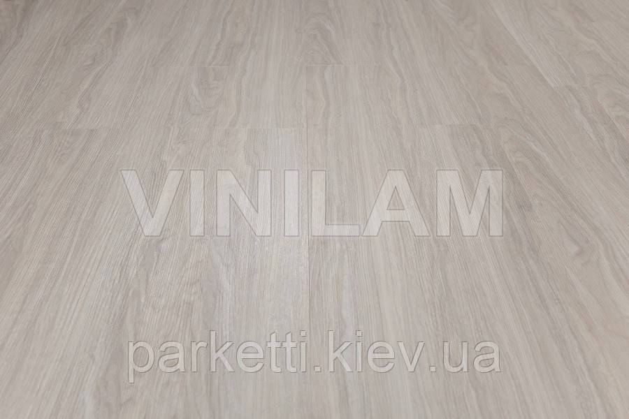 Vinilam 0702 Ясень белый Click Hybrid виниловая плитка