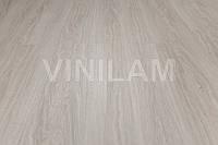 Vinilam 0702 Ясень белый Click Hybrid виниловая плитка, фото 1