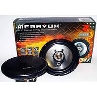 Колонки динамики автомобильные MEGAVOX MGT-6836 16см (300W) трехполосные
