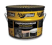 Мастика битумная для фундаментов  AquaMast Технониколь 10кг (Аквамаст Гидроизоляция фундамента)