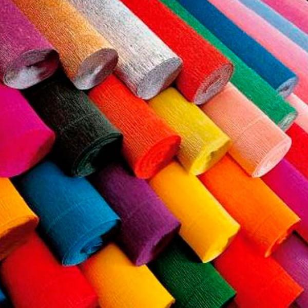 Гофрированная бумага разного цвета уже в продаже!