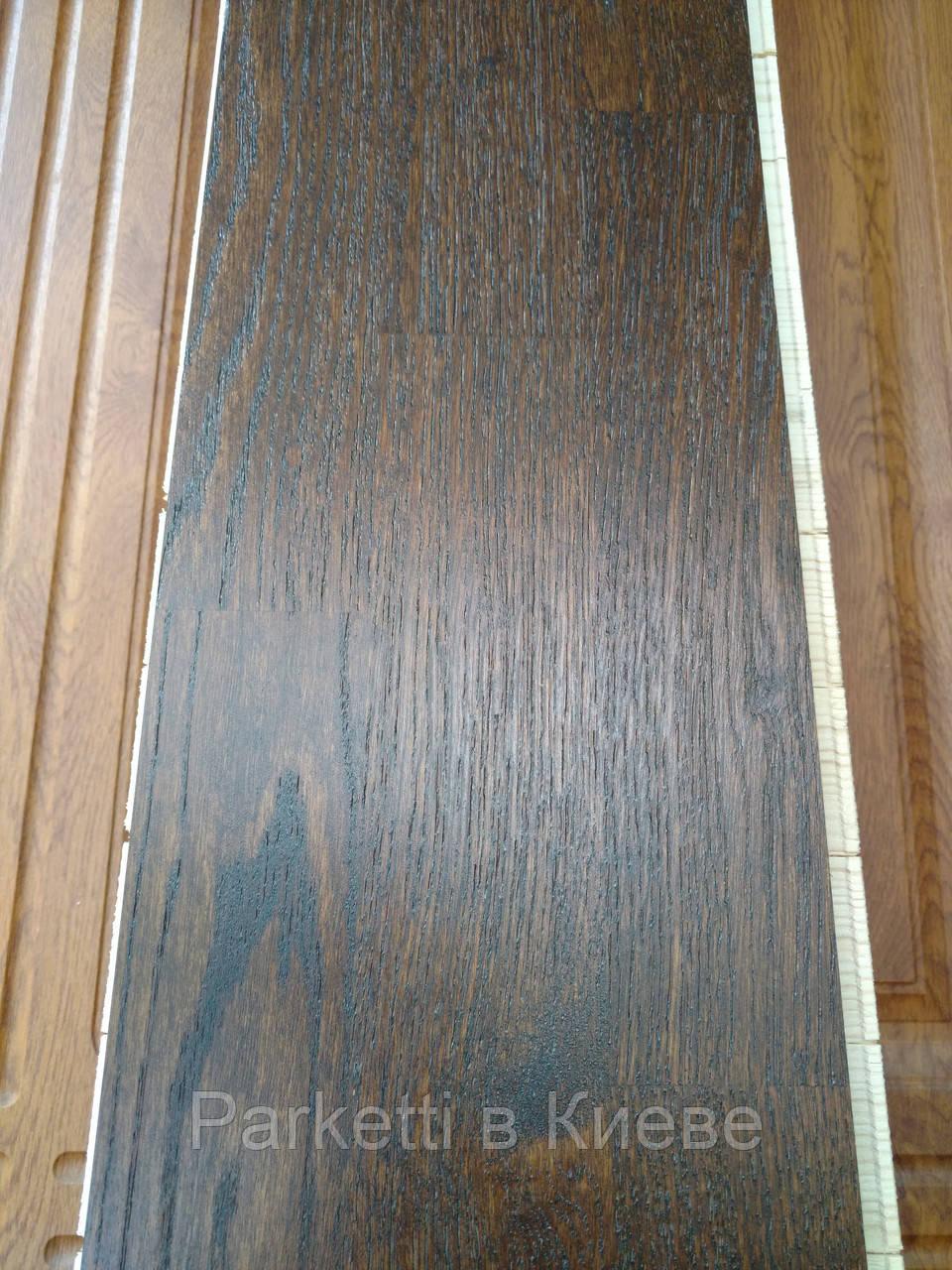Паркетная доска Wood Floor Ясень Коньяк