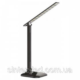 Светодиодная настольная лампа SEAN SL-5010-9W 4000K черная, сенсор, диммер, Код.58827
