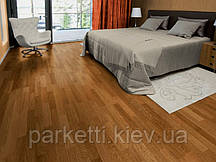Паркетна дошка Focus Floor Дуб Levante 3-смуговий, золотистий лак