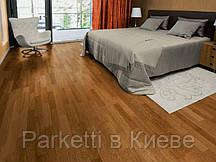 Паркетная доска Focus Floor Дуб Levante 3-полосный, золотистый лак