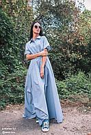 Платье женское, белое, весна-лето P-KLARISA1-1