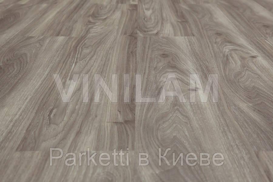Vinilam 54616 Дуб срібло Click Hybrid вінілова плитка