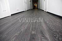 Vinilam 546128 Дуб Чорний Click Hybrid вінілова плитка, фото 1