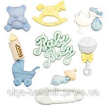 Набор пуговиц Buttons Galore - Baby Boy 4423