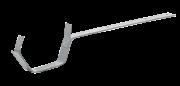 Кріплення жолоба для 60х80х60мм