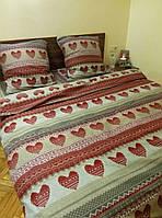 Двуспальный комплект постельного белья С ЛЮБОВЬЮ