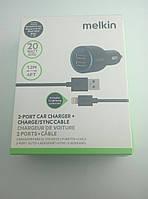 Автомобильное ЗУ MELKIN  BLACK (2 USB Port/2.1A)