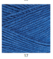 Yarnart Jeans Plus - 17 синий