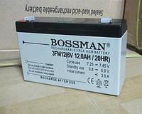 Аккумулятор Bossman Profi 3 FM 12 6v-12ah (6в 12ач) 6 Вольт 12 Ампер-часов