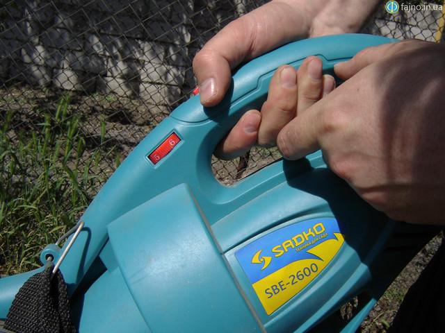 Управление на рукоятке на Sadko SBE-2600 фото 3