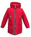 Детское Демисезонное весенне - осеннее пальто на девочку, размеры 30- 36, фото 2