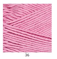 Yarnart Jeans Plus - 36 розовый