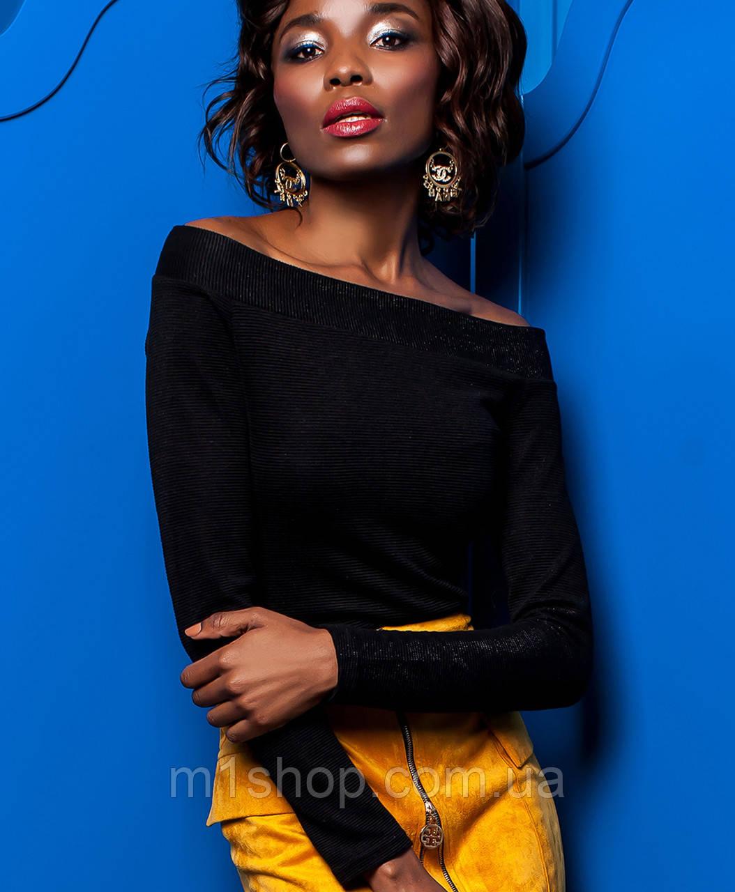 Черная блузка | Синтия jd