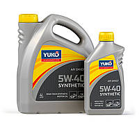 Синтетическое моторное масло YUKO SYNTHETIC 5W-40 (API SN/CF) 4л
