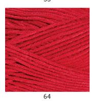 Yarnart Jeans Plus - 64 красный