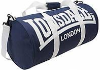 Спортивная сумка lonsdale london, сумка лондон синяя/белые ручки