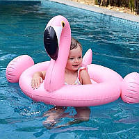 Надувной круг-ходунки Фламинго, фото 1